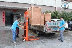 华拓三头并联式超声波焊接机成功发往重庆